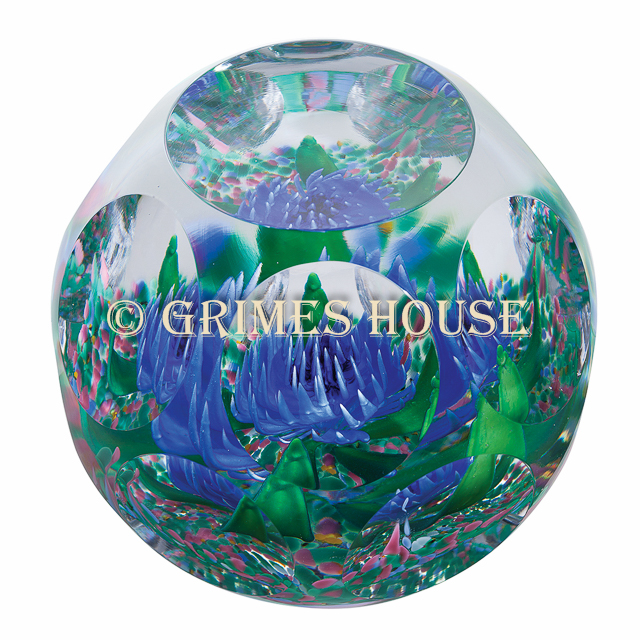 Caithness glass paperweight SCOTTISH COLLECTION HIGHLAND ROMANCW