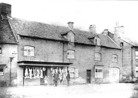 Hollier's the butchers, Moreton in Marsh circa 1860